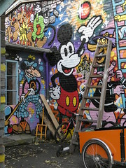Mickey in Freetown Christiania - Berlin, Germany (ashabot) Tags: copenhagen denmark mickey freetownchristiania christianshavn europe northerneurope worldcities seetheworld travel