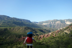 Espectacular ! - Canyon Chicamocha (Play(boy)mobil) Tags: playmobil colombia colombie canyon trek chicamocha