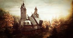 Sanctuary (~Scimo~) Tags: wald kirche tempel screenshot forest church tower building temple autumn herbst licht light