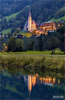 Heiligenblut church, austria