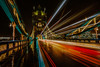 Tower Bridge (WheresBusyB) Tags: bridge london longexposure night nikond750 towerbridge traffictrail urban