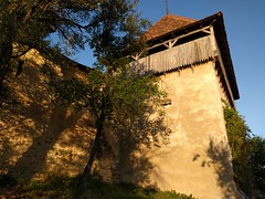 Outer walls of a Viscri - a medieval fortified church - Romania (ashabot) Tags: unesco romania travel traveldiaries 2017