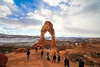 People under Delicate Arch in Arches National Park, Utah (DGNacho.com) Tags: dgnacho travel traveling vacation visiting instatravel trip holiday photooftheday fun tourist instatraveling mytravelgram travelgram simplyadventure teamcanon naturelovers neverstopexploring outdoors traveladdict traveler view vsco vscocam wander wanderlust photography photo wow blue green landscape ngc isleofskye mountain nature nofilter filter canon thelavishsociety ponderation avenuesofinspiration archesnationalpark national park utah delicate arch
