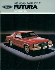 1982 Ford Fairmont Futura Coupe (coconv) Tags: car cars vintage auto automobile vehicles vehicle autos photo photos photograph photographs automobiles antique picture pictures image images collectible old collectors classic ads ad advertisement postcard post card postcards advertising cards magazine flyer prestige brochure dealer 1982 ford fairmont futura coupe 82 red 2 door hardtop