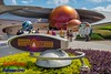 Mission: Space (Scottwdw) Tags: unitedstatesofamerica blue clouds epcot florida futureworld missionspace orlando sky travel vacation waltdisneyworld nikon d750 nikon1635mmf4vr flowers spheres logo sign outdoors curves architecture people