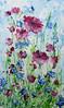 messy meadow (My HobbyArt) Tags: flower meadow art lúka kvety ruže roses poppy obraz