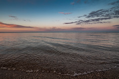 Sunset on Lake of the Woods (Tony Webster) Tags: lakeofthewoods minnesota zippelbay zippelbaystatepark beach lake sand sandybeach sunset waves williams unitedstates us