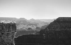 Grand Canyon South Rim In Monochrome (randyherring) Tags: southrim rocks grandcanyon desert geology park outdoor grandcanyonnationalpark monochrome arizona bw blackandwhite landscape az