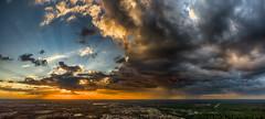 My Florida (DonMiller_ToGo) Tags: mavicpro hdr weather clouds panoramic 3xp panoimages3 goldenhour sunset autostitch outdoors skypainter aerial rain sky florida