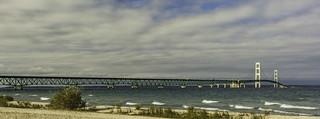 long stretch - Mackinac Bridge