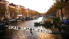 Amsterdam (vmribeiro.net) Tags: amesterdão holanda netherlands hollande canal street name sign sony z1 sonyz1
