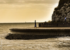 Fearless youth 2 (philbarnes4) Tags: broadstairs thanet kent england coast view dslr philbarnes