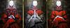 Shanghai - Triptyque par Qiu Shengxian. (Gilles Daligand) Tags: chine china shanghai triptyque tableau painting peintre qiushengxian leica q