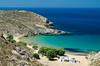 Psili Ammos beach, Patmos, Greece (RomanK.) Tags: greece patmos psiliammos beach ellada ellas sea greek