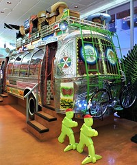 Pakistani highly decorated bus (Will S.) Tags: mypics canadianmuseumofcivilization hullquebec canada canadianheritage canadiana museumofcivilization thecanadianmuseumofcivilization hull gatineau quebec canadianmuseumofhistory bedford bus peshawar pakistan