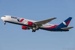 D-AZUC, Azur Air Boeing 767-300, DUS (Andries Cafmeyer) Tags: dazuc azur air boeing 767 767300 dusseldorf dus eddl germany 2017