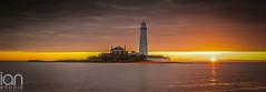 Birds (ianbrodie1) Tags: lighthouse sun sunrise water sea seascape ocean north tyneside leefilters band cloud colour nikon coast coastline birds island house
