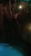 Colorado - Lakewood: Casa Bonita - Cliff Diver (video) (wallyg) Tags: casabonita colorado denver jeffersoncounty lakewood diver cliffdiver diving cliffdiving waterfall video
