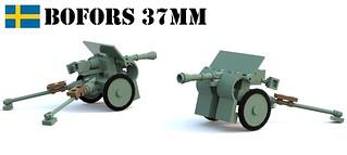 37 mm pansarvärnskanon m38