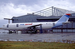 F-BUAF Airbus A300 Air Inter (@Eurospot) Tags: fbuaf airbus a300 deols chateauroux airinter