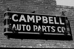 Campbell Auto Parts Co. (dangr.dave) Tags: architecture burkburnett downtown historic texas tx wichitacounty campbellautoparts neon neonsign autopartscompany campbell