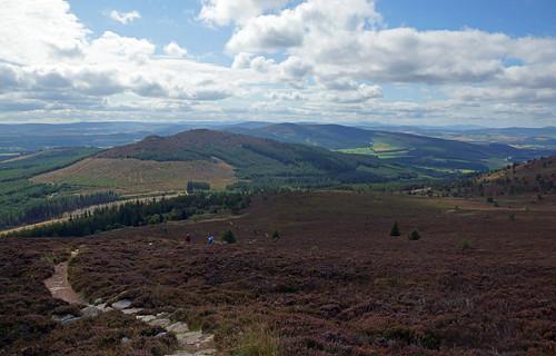 2017-08-26 09-09 Schottland 539 Bennachie, Mither Tap Trail
