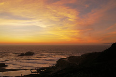 Sunset at Land's End (charlottes flowers) Tags: landsend sanfrancisco sutro ggnra goldengatenationalrecreationarea
