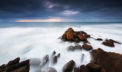 S A N T A   C R U Z (FredConcha) Tags: santacruz rocks sunset sea landscape nature fredconcha d90 nikon portugal longexposure