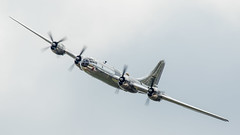 Sweet Sounding DOC - Andrews 2017-1 (4myrrh1) Tags: doc b29 superfortress ww2 wwii bomber military aircraft airplane aviation airshow airforce afb andrews 2017 md canon ef100400l 7dii cloudy clouds