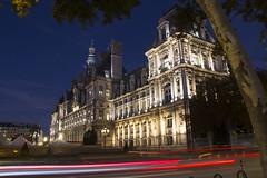 Hotel De Ville (Ali Sabbagh) Tags: paris night hoteldeville longexposure canon eos7d