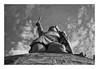 Hermanns-Denkmal (SurfacePics) Tags: blackwhite blackandwhite schwarzweis sw bw einfarbig monochrome detmold nordrheinwestfalen ostwestfalen westfalen deutschland germany europe europa denkmal denkmalschutz memorial teutoburgerwald hermannsdenkmal arminius wald bäume statue kolossalstatue cherusker germanien nationaldenkmal amazing stunning surfacepics sonyalpha77ii sonyalpha sony photography foto fotografie photo historical historisch history geschichte november 2017 sky himmel great tumblr instagram instalike deutschesreich sword schwert