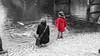 The Little Red Girl (1) (Lцdо\/іс) Tags: lцdоіс belgique red blackandwhite japanese japanse little girl