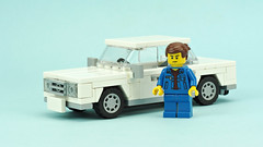 """Car """"Lada"""" (de-marco) Tags: lego car city town 5stud lada vaz"""