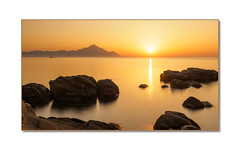 Listen to the whisper of your soul (Karsten Gieselmann) Tags: 1240mmf28 braun chalkidiki em5markii europa filter gelb gold graufilter greece jahreszeiten küste landschaft langzeitbelichtung licht mzuiko meer microfourthirds nd nd1000 natur neutraldensityfilter neutraldichtefilter nisi olympus orange passepartout reise sommer sonnenaufgang brown coast golden kgiesel landscape light longexposure m43 mft nature sea seasons summer sunrise travel yellow sarti griechenland