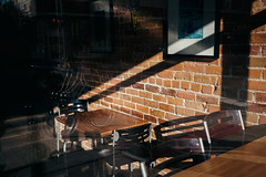 Waiting For Another (davelawrence8) Tags: 2016 annarbor canoneosm contrast light michigan shadow usa
