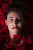 red (tomasiphotography) Tags: red portrait studiolights flowers lipstick girl hair lighting face eyes beautiful seduction love