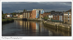 Gainsborough (Paul Simpson Photography) Tags: gainsborough lincolnshire westlindsey paulsimpsonphotography rivertrent water reflection reflections sonya77 sonyphotography imagesof imageof photoof photosof sunshine autumn october2017 waterreflection town buildings townscape cityscape urban urbanview views