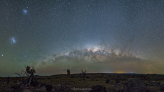 Three galaxies from halfway to the top (nightscapades) Tags: act airglow arablerd astronomy astrophotography australiancapitalterritory autopanopro berridale berry canberra cooma farm galacticcore ianwilliams milkyway mountain nature night nightscapes pano panorama panos rural science sky snowymountains stars stitch coolangatta coolangattamountain nowra shoalhaven shoalhavenheads southcoastnsw newsouthwales australia au
