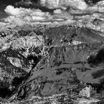 Alpenblick in Schwarzweiss thumbnail