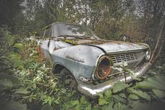 Rekord (FanFan Babii or just plain Buffan) Tags: car opel germancar rekord opelrekord abandoned forgotten rural ruraldecay decay urbex urbexcar exploring exploringshots