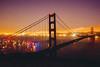 A Rare Silhouette of her Dramatic Beauty (Thomas Hawk) Tags: 75thbirthdaygoldengatebridge america batteryspencer california goldengatebridge marin marinheadlands sanfrancisco usa unitedstates unitedstatesofamerica bridge millvalley us fav10 fav25 fav50 fav100
