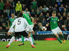 Northern Ireland v Germany (Portspix) Tags: belfast coantrim unitedkingdom davis hummels germany