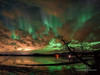 Curtains behind the clouds (Traylor Photography) Tags: alaska northernlights campfire bridge nature stars panorama oldglennhighway nightsky wasilla knikriver butte lightpollution citylights palmer auroraborealis bigdipper clouds landscape reflection unitedstates us