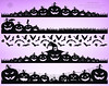 Halloween Pumpkin Borders, spooky clipart, instant download digital clipart, printable border, silhouettes, decor with pumpkin, bat, cobweb (Digiworkshop) Tags: etsy digiworkshop scrapbooking illustration creative clipart printables cardmaking digital halloween border borders pumpkin silhouettes frames