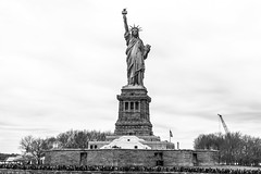 Liberty (Manny Esguerra) Tags: thestatueofliberty outdoors cityscape newyork city travel sculptures