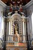 Oxelaëre, Nord, Flandre, Église St.-Martin, main altar (groenling) Tags: oxelaëre nord flandre hautsdefrance france fr églisestmartin altar autel apse apsis statue saint martin bishop évêque miter mitre tabernacle eagle aigle shawm chalumeau