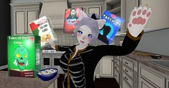 Makes Breakfast Spooky (SerenitySemple) Tags: secondlife furry fashion shirotsuki halloween newreleases junkfood gacha gachaguardians ayashi seasonsstory anime animehead kawaii kowai utilizator mokyu