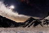 Valle de las Arenas, Cajón del Maipo, Chile (Well of Sadness) Tags: snow nieve longexposure cajondelmaipo chile valledelasarenas stars moon moonlight clouds