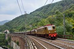 E428 (Paolo Brocchetti) Tags: paolobrocchetti pietrabissara e428 fs giovi bahn trenitalia rail nikon d810 locomotiva centoporte corbellini
