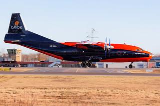 UR-CKL Antonov An-12BK Cavok Air